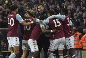 Villa buat Leicester gigit jari ke final