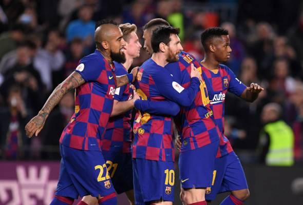 Copa del Rey: Messi main watak penting bantu Barca belasah Leganes