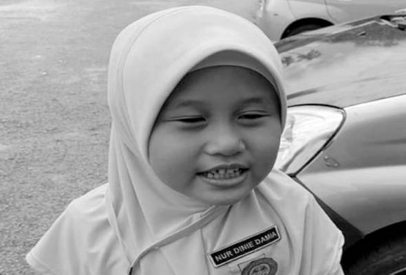 Menteri Besar Johor berkata, waktu Nur Dinie Damia (gambar) masuk ke HSA, ujian Influenza dilakukan dan didapati negatif. - BERNAMA | Astro Awani
