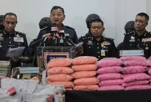 Sindiket dadah bernilai RM144.9 juta tumpas