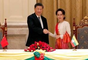 China, Myanmar kukuhkan hubungan dua hala