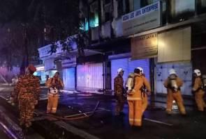 Lelaki ditemui rentung dalam kebakaran rumah kedai
