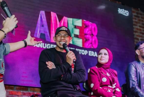 Nabil Ahmad, Jihan Muse diberi tanggungjawab sebagai hos untuk AME2020 tahun ini - Foto Instagram @amiruddinsylar | Astro Awani