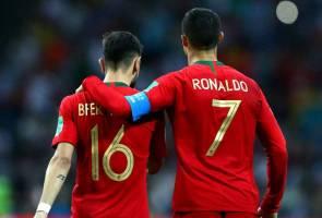 Cristiano Ronaldo semai cinta terhadap Man Utd - Fernandes