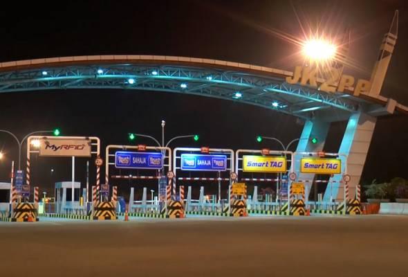 Kadar tol di dua Jambatan Pulau Pinang kini seragam