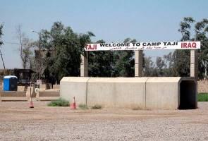 Kem penempatan tentera AS di Iraq diserang dua roket