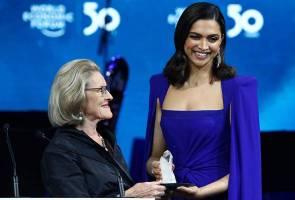 Davos 2020: Deepika Padukone terima anugerah Crystal Award WEF