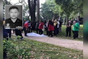 Anggota polis meninggal dunia ketika berjoging