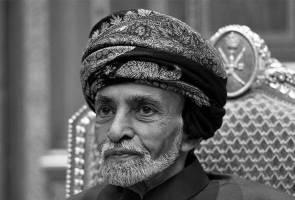 Raja Oman mangkat pada usia 79 tahun