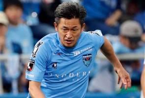 Pemain Liga J perbaharui kontrak pada usia 52 tahun