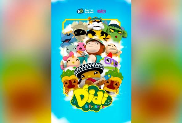 Didi & Friends rangkul anugerah 'Program Prasekolah Terbaik' di Asian Television Awards ke-24