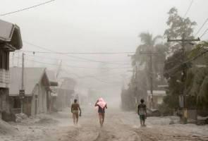 Letusan gunung berapi, pelajar Malaysia dipindah ke Manila