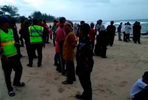 Empat pelajar politeknik dikhuatiri lemas di Pantai Teluk Bidara