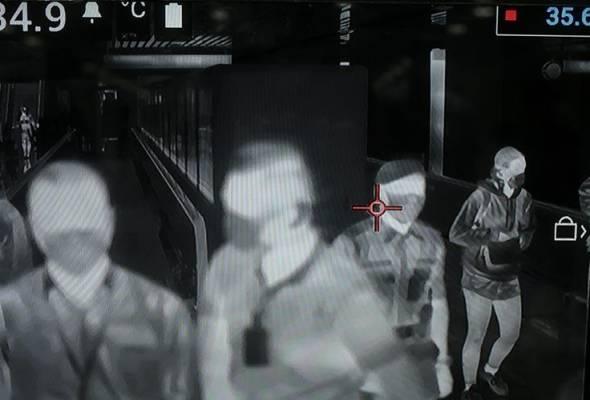 Pahang menempatkan alat pengesan haba di tiga pintu masuk antarabangsa sebagai langkah mencegah jangkitan novel koronavirus di negeri itu. - Gambar fail/Astro AWANI | Astro Awani
