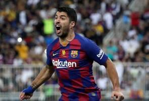 Suarez tidak dapat beraksi 4 bulan kerana kecederaan