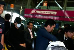 Kento Momota, dua pegawai sukan pulang ke Jepun