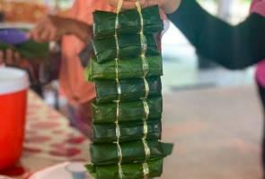 Kuih kelupis juadah wajib etnik Brunei