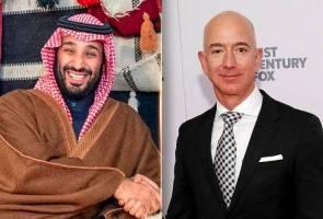 Saudi didakwa godam telefon Jeff Bezos, PBB gesa siasatan