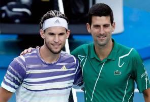 Thiem, kamu pasti akan jadi jaguh Grand Slam satu hari nanti - Djokovic
