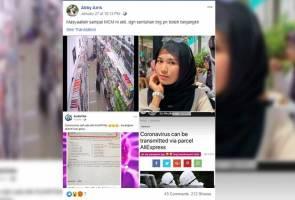 Wanita dijangkiti koronavirus rebah di Malaysia?