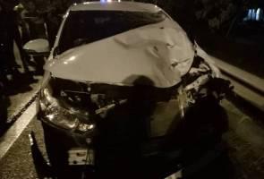 Dua maut dipercayai dirempuh pemandu mabuk
