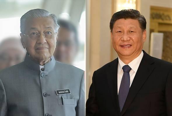 Tun Mahathir, Presiden China bincang mengenai COVID-19 di telefon
