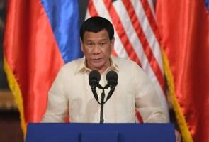 Rodrigo Duterte menghambat ego Amerika Syarikat