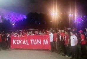 Tun Mahathir tiba untuk mempengerusikan mesyuarat Majlis Presiden PH