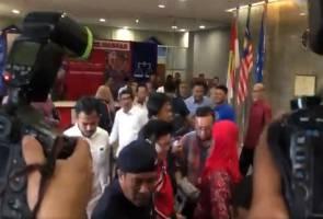 Annuar Musa sahkan Presiden UMNO ke Istana Negara