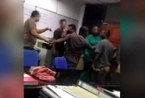 Sembilan ditahan buat kecoh dalam balai polis