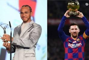 Messi, Hamilton kongsi anugerah Atlet Terbaik Tahunan Laureus