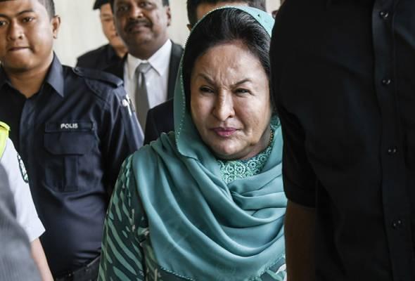 Rosmah gagal halang media melaporkan penyataan saksi Rizal Mansor