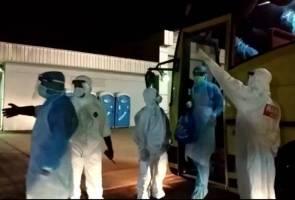 Koronavirus: 2 daripada 107 yang pulang tidak lepasi saringan kesihatan