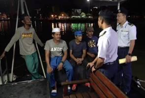 Empat nelayan hilang sejak seminggu ditemui selamat