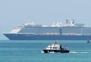 Penumpang kapal persiaran Westerdam dilarang memasuki Thailand