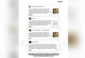 Polis buru pemilik akaun Facebook sebar berita palsu berkaitan jawatan PM