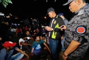 Op bersepadu: 155 ditahan termasuk 7 kanak-kanak