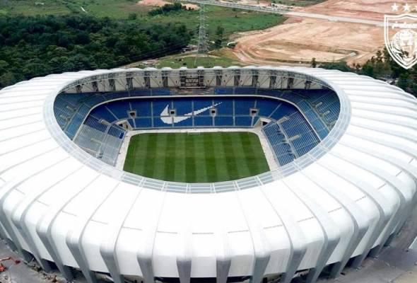 Dibina dengan kos RM200 juta di Iskandar Puteri, stadium ini akan menjadi home buat Harimau Selatan. - Facebook/JDT | Astro Awani