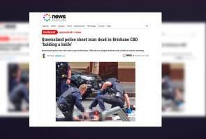 Lelaki ugut cederakan orang awam ditembak mati