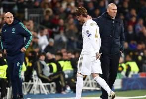 Liga Juara-Juara: Ramos samai rekod kad merah terbanyak