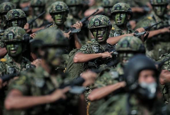 Penjenamaan semula: Bekas tentera pilihan utama jadi pengawal keselamatan