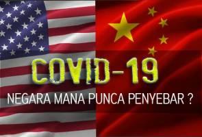 Mulut Trump sebar 'virus' terbaharu - Amerika dakwa China punca korona