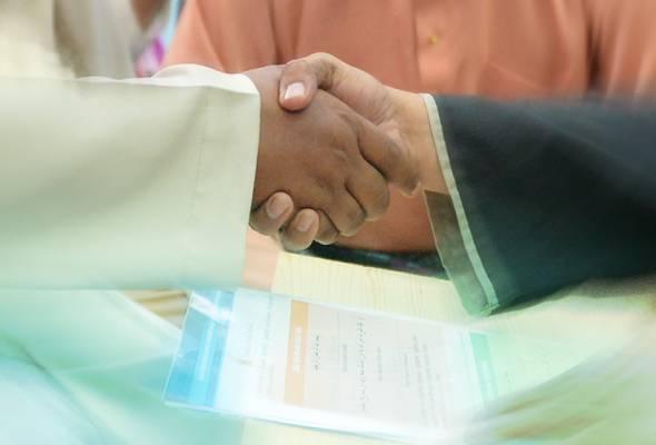 Ia terhad kepada tiga orang (pengantin lelaki, perempuan dan wali) serta janji temu pada Isnin hingga Jumaat dengan lima sesi setiap hari mulai 2 November ini.