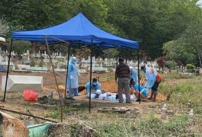 Jemaah tabligh korban keempat COVID-19 selamat dikebumi