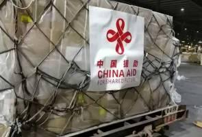 Malaysia terima bantuan peralatan perubatan, topeng muka dari China