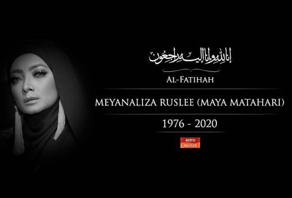 Penyanyi terkenal, Maya Matahari meninggal dunia.