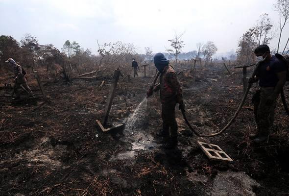 Kebakaran Hutan Simpan Kuala Langat Selatan berjaya dipadamkan
