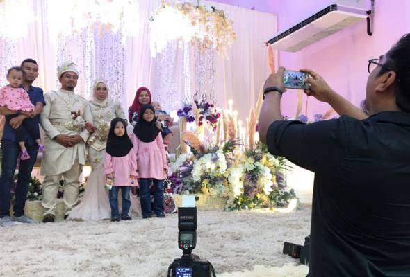 Alhamdulillah ... majlis kahwin dibenarkan mulai 1 Julai