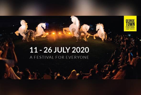 COVID-19: Perayaan Warisan George Town, George Town Festival 2020 dibatalkan