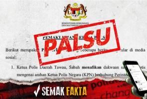 Semak fakta: MKN nafi video tular kekecohan pasar raya Johor